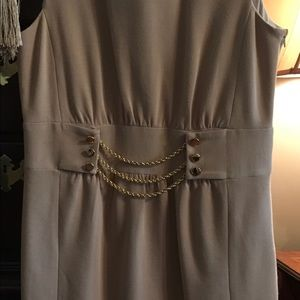 Milly Taupe Knit Dress. Size L. Beautiful